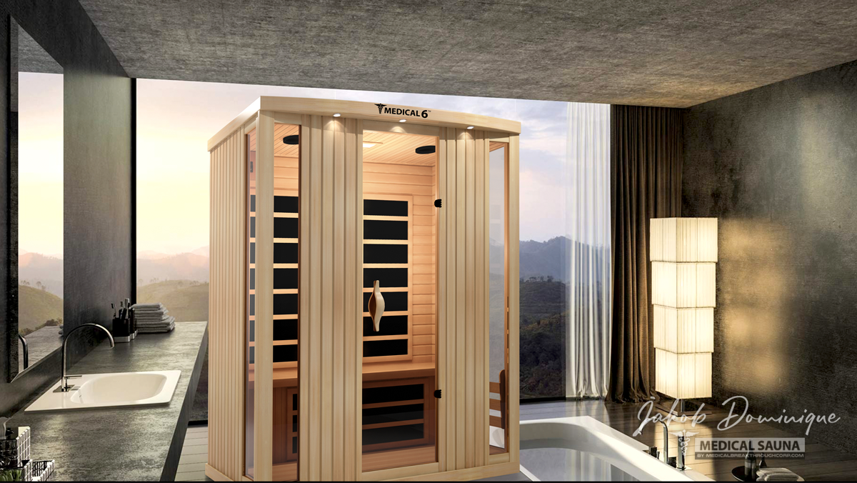 Official website of the world 39 s first for Master bathroom with sauna