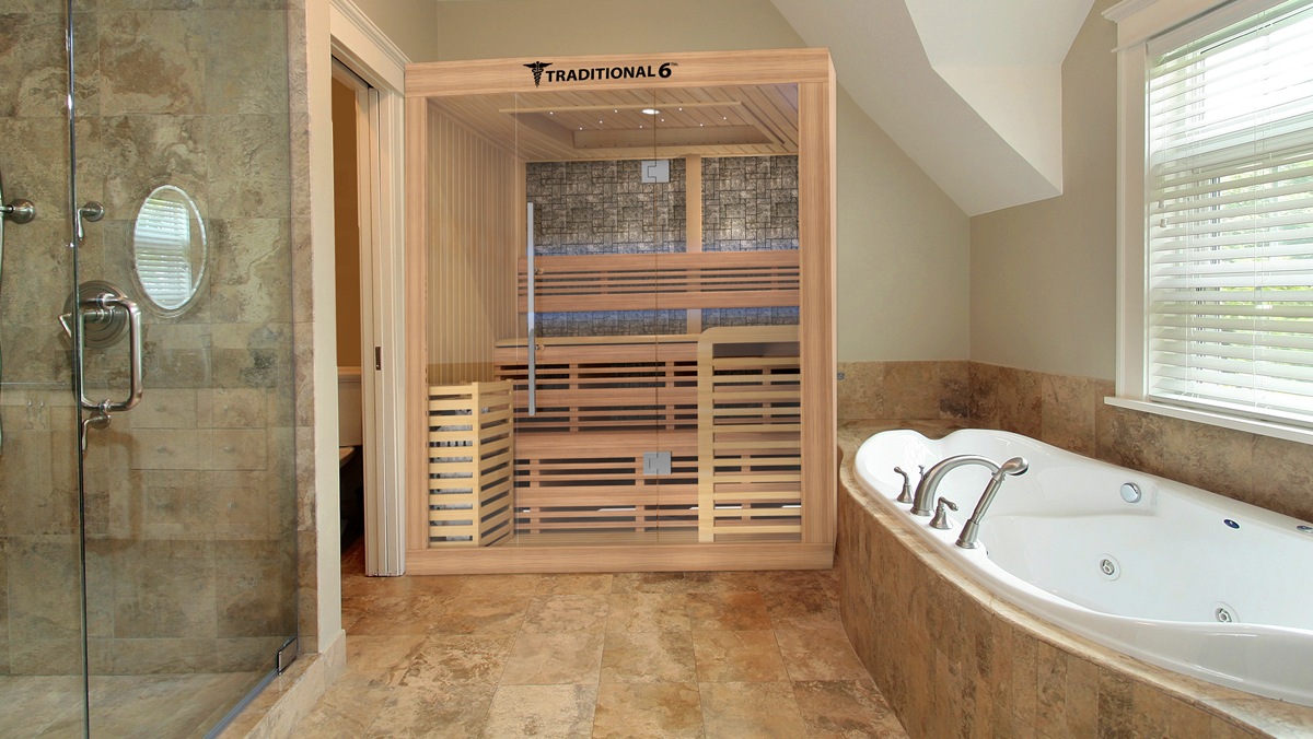 MedicalSaunascom Official Website Of The Worlds First Medical Sauna - Bathroom showcase